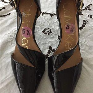New Calvin Klein black Women's High Heels